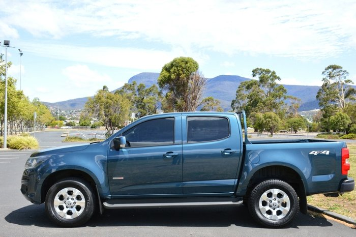 2016 Holden Colorado LT RG MY17 4X4 Dual Range BLUE