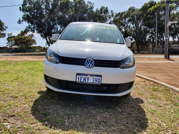 2014 Volkswagen Caddy TDI250 2KN MY15 White