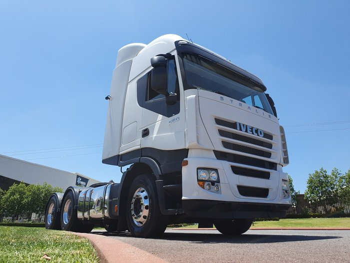 2010 Iveco Stralis AD500 AS13 WHITE