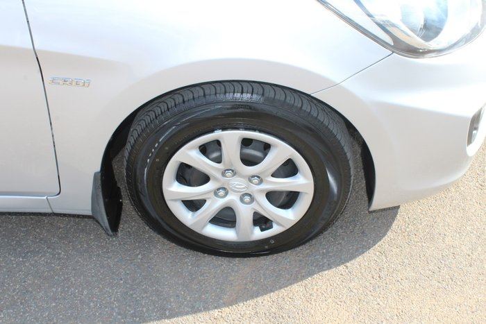 2012 Hyundai Accent Active RB Silver
