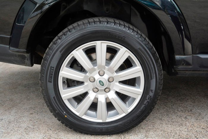 2012 Land Rover Discovery 4 SDV6 HSE Series 4 MY12 4X4 Constant Black