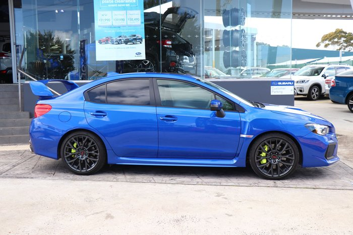 2018 Subaru WRX STI spec.R V1 MY19 Four Wheel Drive Blue