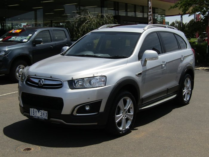 2014 Holden Captiva 7 LTZ CG MY14 4X4 On Demand Silver