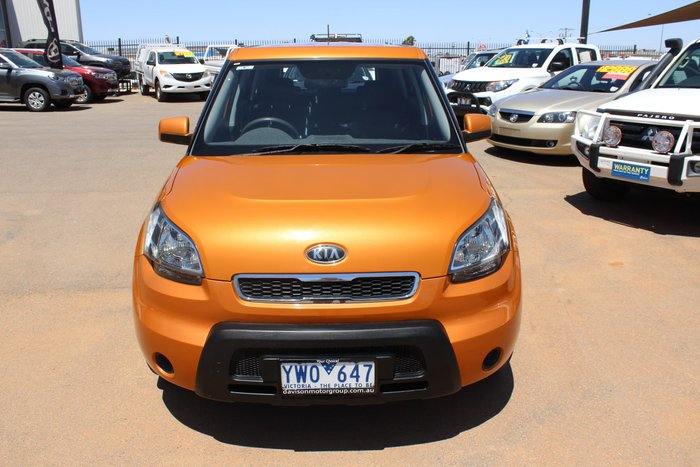 2011 Kia Soul AM MY11 Orange