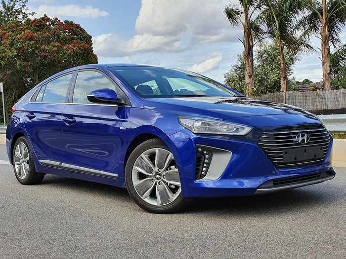 2018 Hyundai IONIQ hybrid Premium AE.2 MY19 Blue