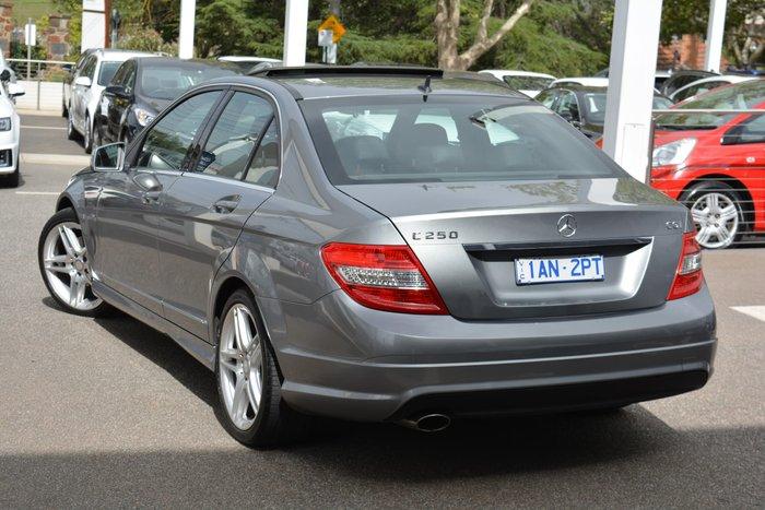 2010 Mercedes-Benz C-Class C250 CGI Elegance W204 MY10 Grey