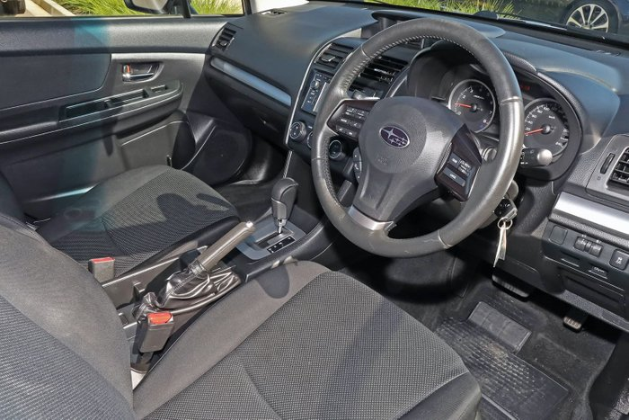 2012 Subaru XV 2.0i-L G4X MY12 Four Wheel Drive Silver