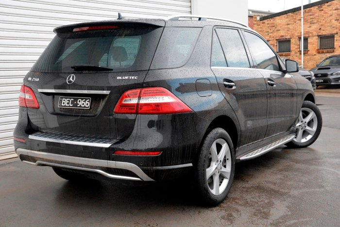 2015 Mercedes-Benz M-Class ML250 BlueTEC W166 MY15 4X4 Constant Black