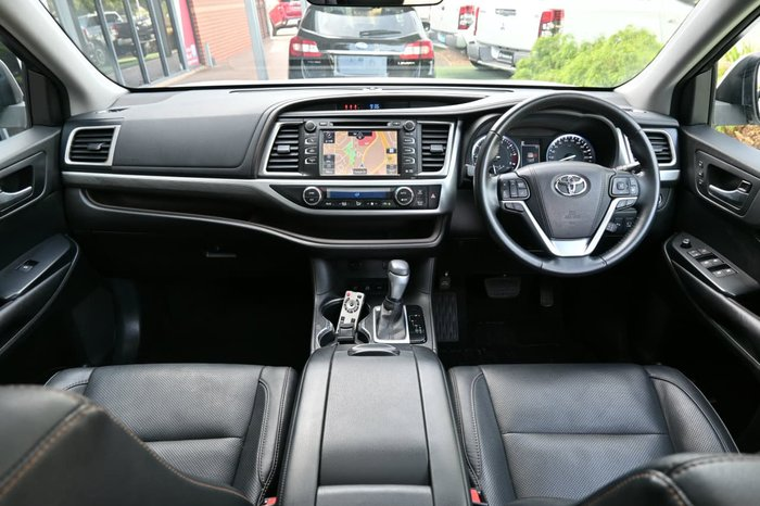 2017 Toyota Kluger Grande GSU55R Four Wheel Drive White