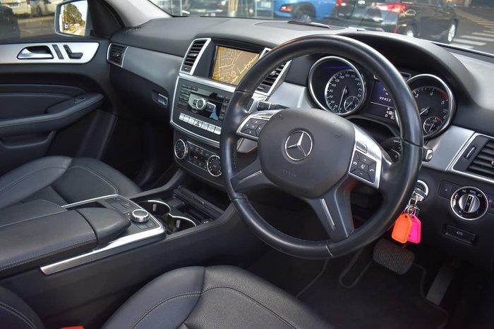 2012 Mercedes-Benz M-Class ML250 BlueTEC W166 4X4 Constant Silver