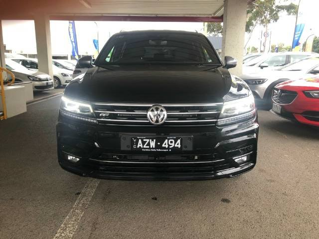 2018 Volkswagen Tiguan 162TSI Highline Allspace 5N MY18 Four Wheel Drive DEEP BLACK