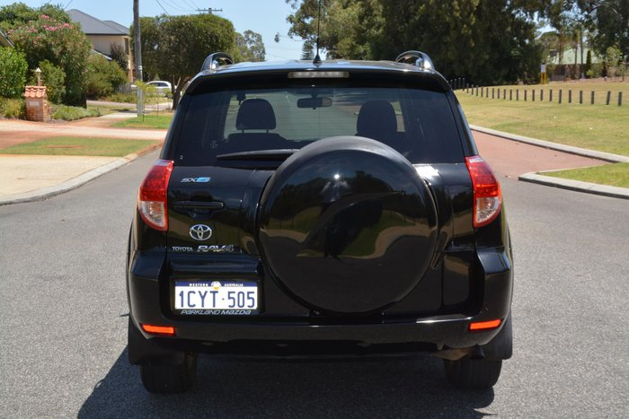 2008 Toyota RAV4 SX6 GSA33R MY08 4X4 On Demand Black
