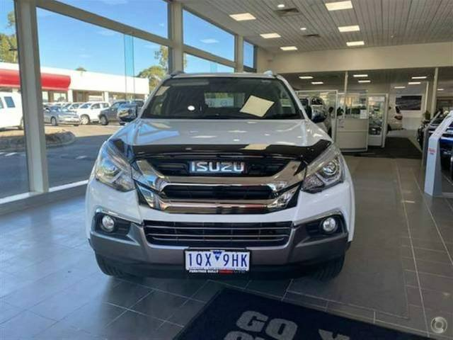 2019 Isuzu MU-X LS-T MY19 SPLASH WHITE