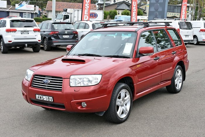 2005 Subaru Forester XT 79V MY05 Four Wheel Drive Red