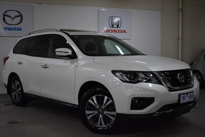 2018 Nissan Pathfinder ST-L R52 Series II MY17 White