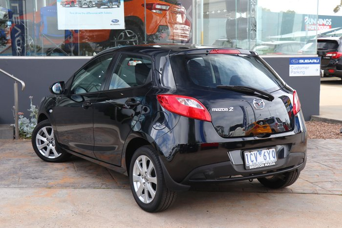 2014 Mazda 2 Neo Sport DE Series 2 MY14 Black