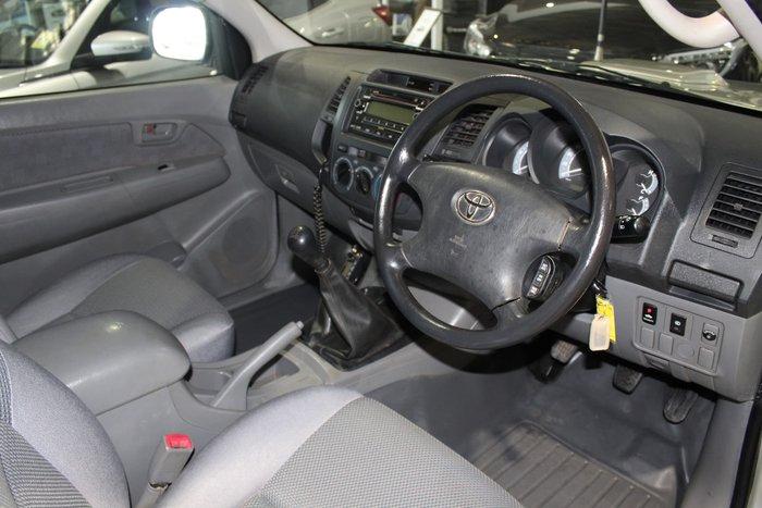 2005 Toyota Hilux SR KUN26R MY05 4X4 Silver