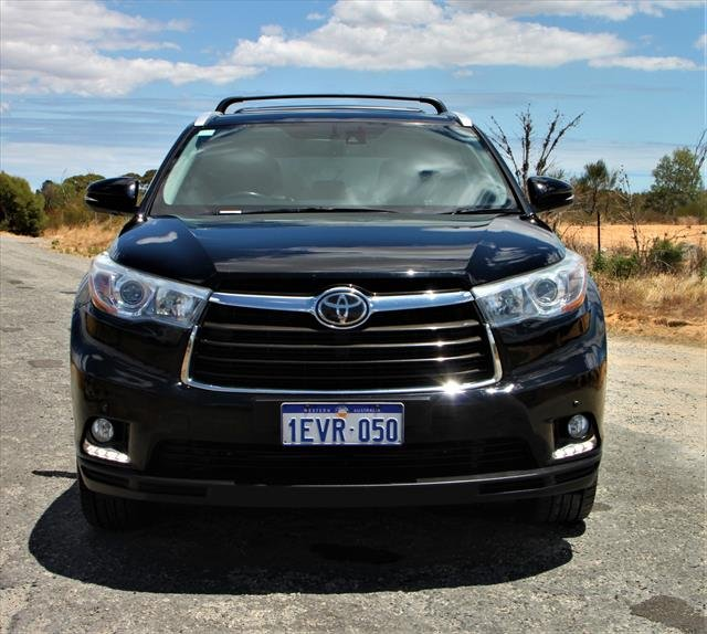 2014 Toyota Kluger Grande GSU55R Four Wheel Drive BLACK