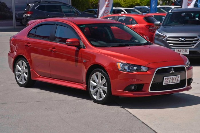 2014 Mitsubishi Lancer GSR CJ MY14.5 Red