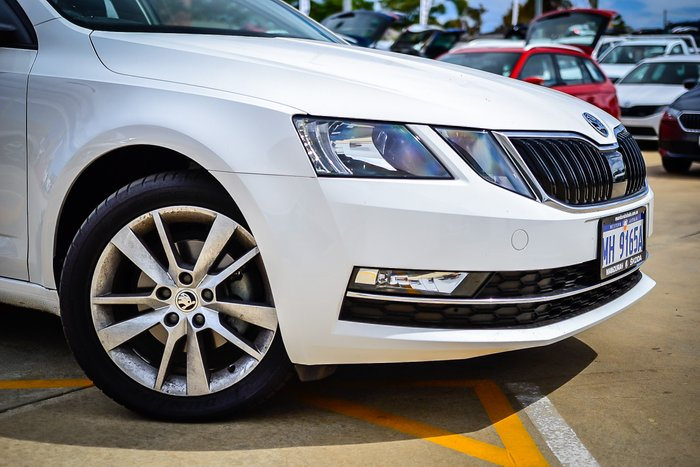 2018 Skoda Octavia Sedan 1.4L T/P 7Spd DSG MY19 Candy White