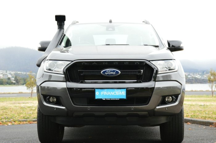 2017 Ford Ranger FX4 PX MkII MY18 4X4 Dual Range magnetic grey