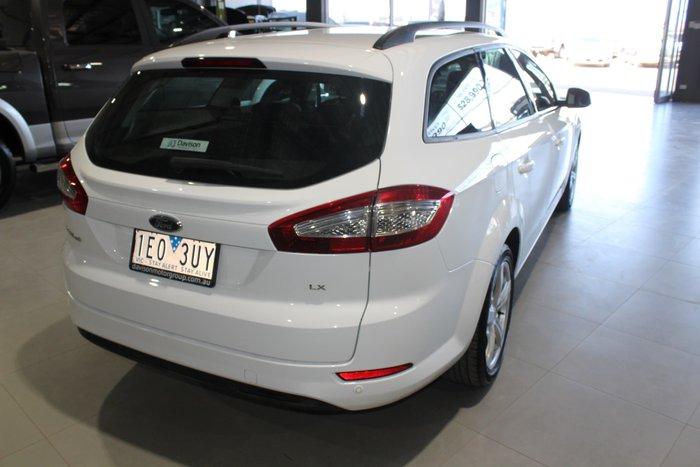 2012 Ford Mondeo LX MC White