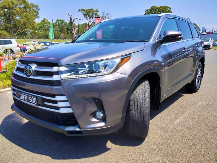 2018 Toyota Kluger GXL GSU55R Four Wheel Drive Red