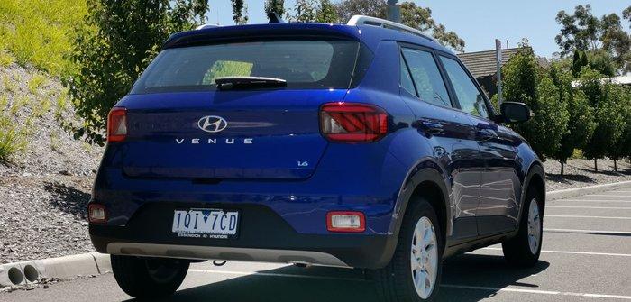 2019 Hyundai Venue Active QX MY20 Blue