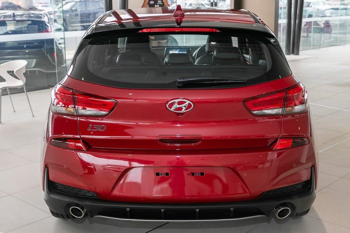 2020 Hyundai i30 N Line PD.3 MY20 Red