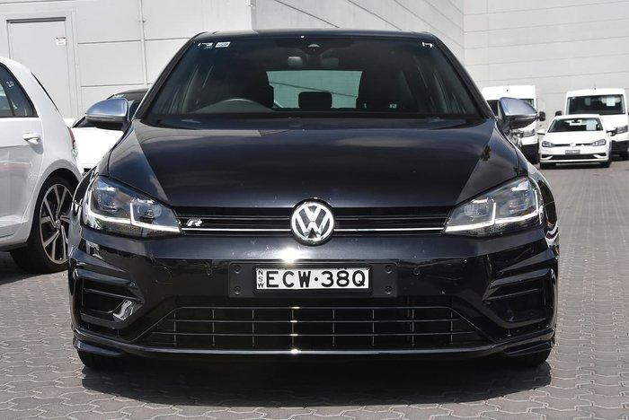 2018 Volkswagen Golf R 7.5 MY19 Four Wheel Drive Black