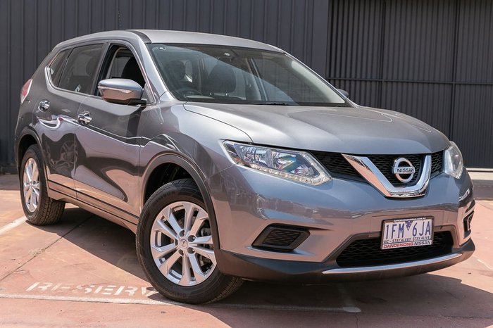 2015 Nissan X-TRAIL TS T32 Grey