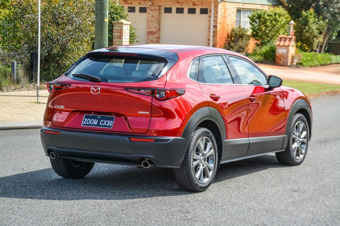 2019 Mazda CX-30 G20 Astina DM Series Red