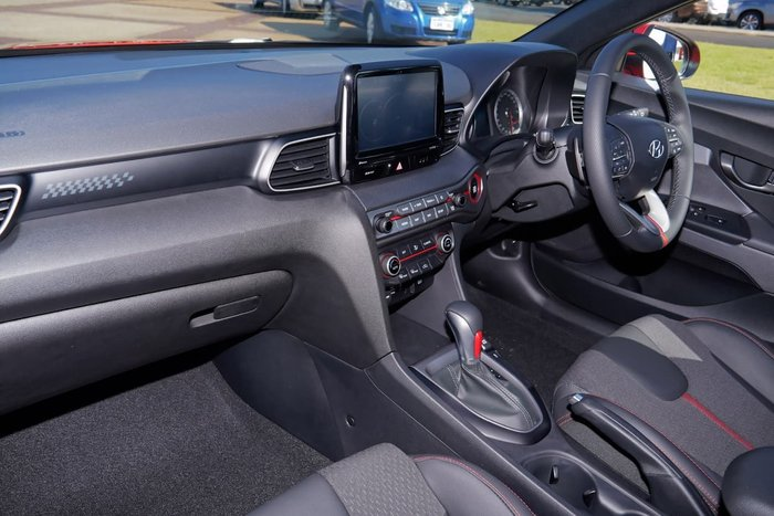 2019 Hyundai Veloster Turbo JS MY20 Orange