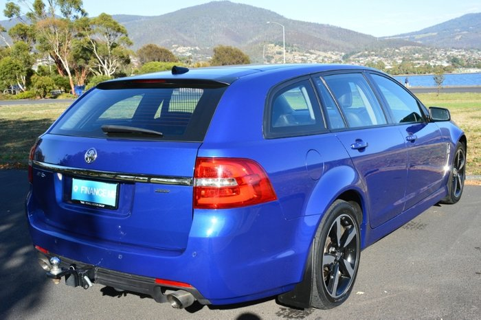 2017 Holden Commodore SV6 VF Series II MY17 slipstream blue