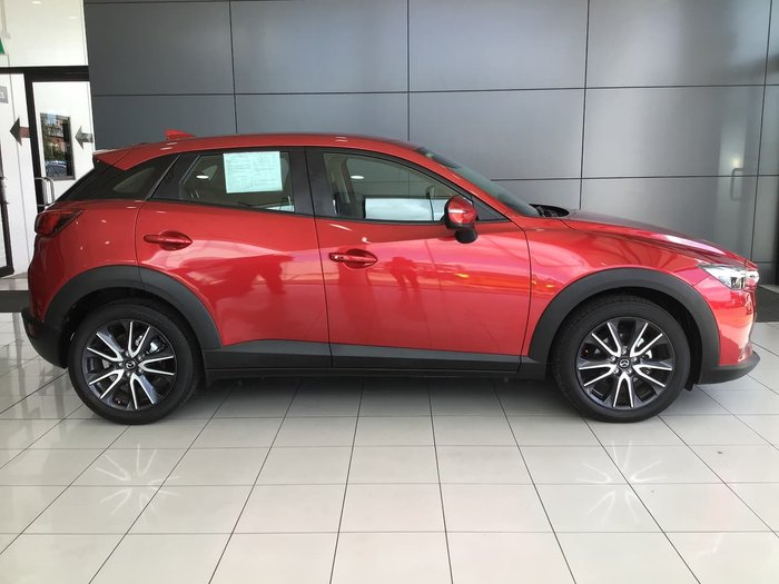 2017 Mazda CX-3 sTouring DK Red