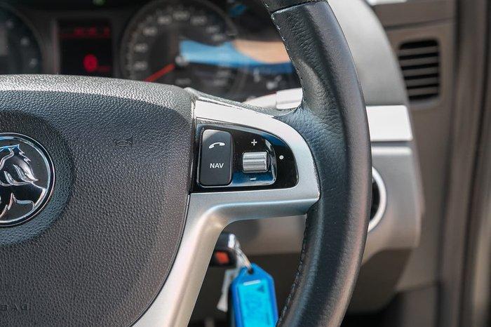 2012 Holden Commodore SV6 VE Series II MY12 Grey