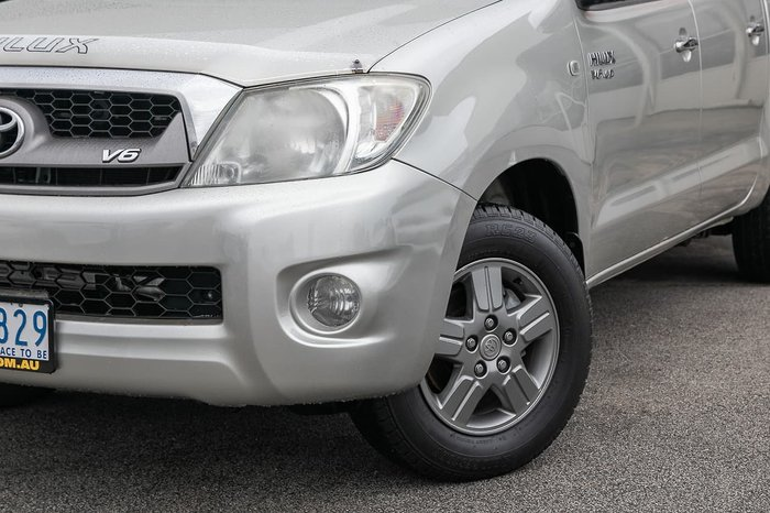 2010 Toyota Hilux SR5 GGN15R MY10 Silver