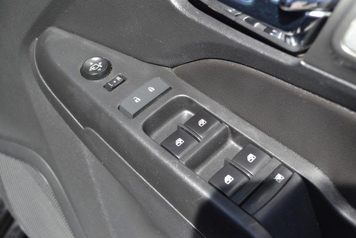 2017 Holden Colorado Z71 RG MY18 4X4 Dual Range Black