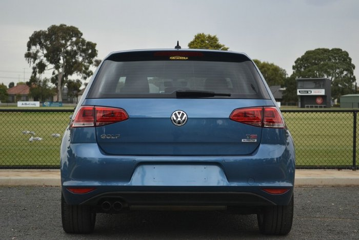 2016 Volkswagen Golf 110TSI Highline 7 MY16 BLUE