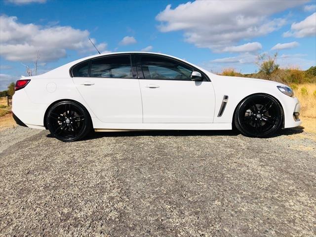 2017 Holden Commodore SS VF Series II MY17 WHITE