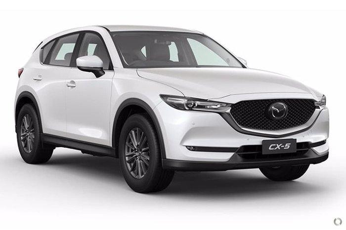 2019 Mazda CX-5 Touring KF Series 4X4 On Demand White