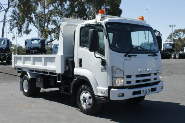 2010 Isuzu FRR500 TIPPER WHITE