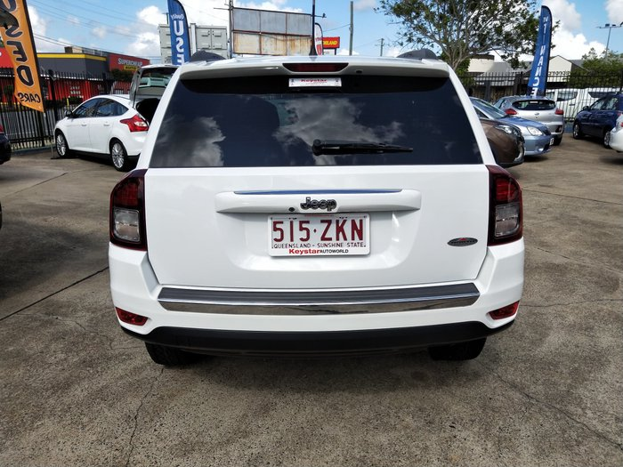 2015 Jeep Compass North MK MY15 White