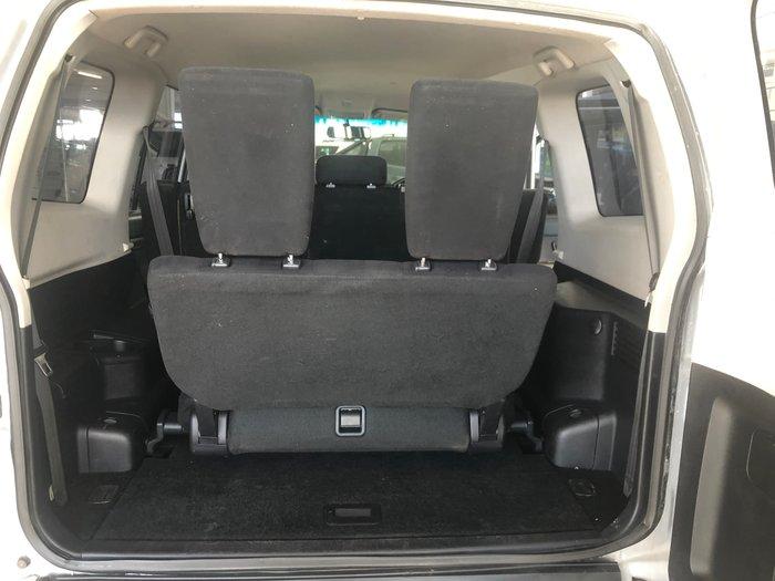 2012 Mitsubishi Pajero GLX NW MY13 4X4 Silver