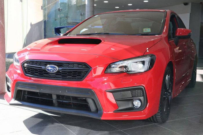 2019 Subaru WRX V1 MY20 Four Wheel Drive Red