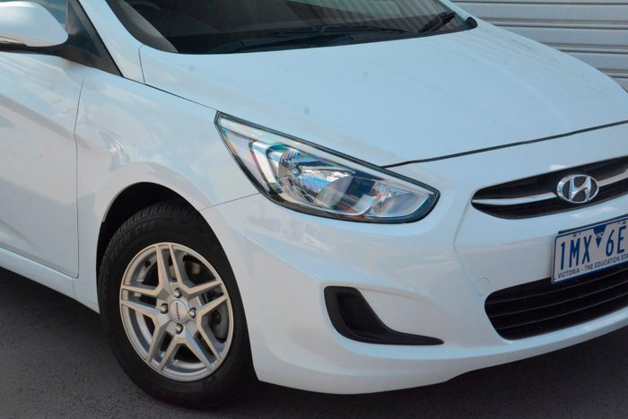 2014 Hyundai Accent Active RB2 White