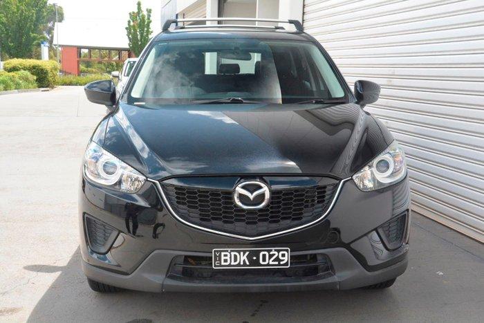 2013 Mazda CX-5 Maxx Sport KE Series MY14 Four Wheel Drive Black
