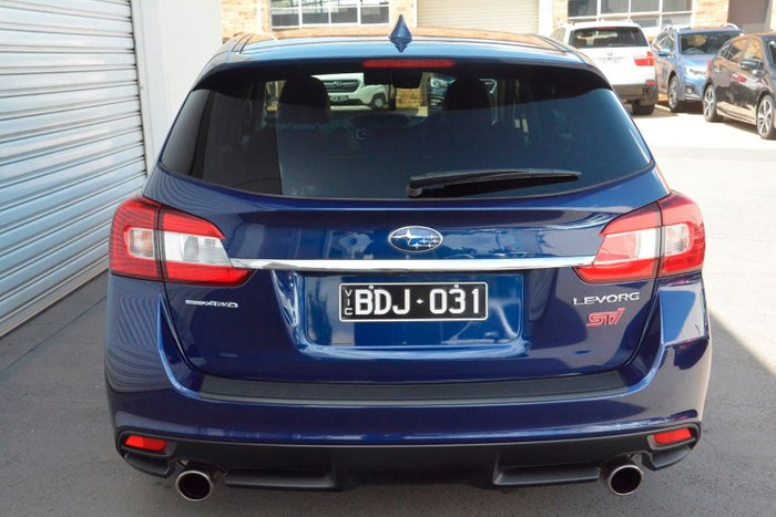 2019 Subaru Levorg 2.0 STI Sport V1 MY19 Four Wheel Drive Blue