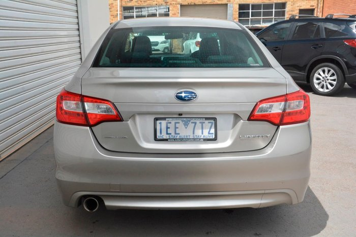 2015 Subaru Liberty 2.5i Premium 6GEN MY15 Four Wheel Drive Brown