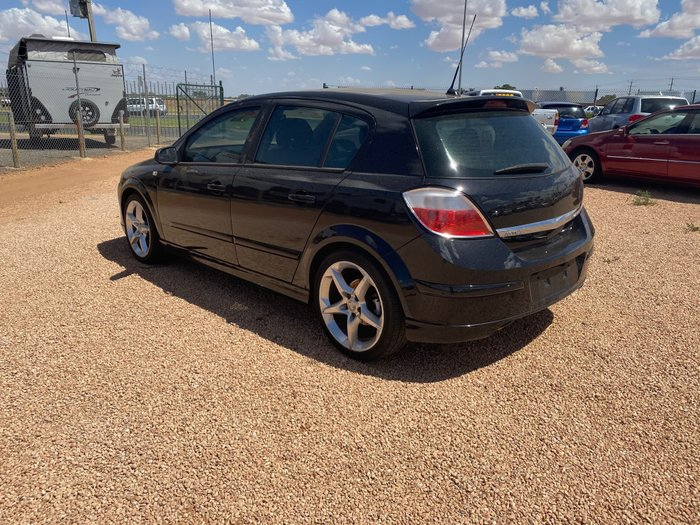 2006 Holden Astra SRI AH MY07 Black